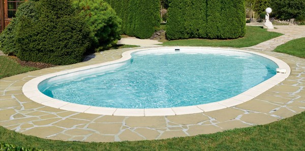 Nos piscines en coque for Piscine ronde